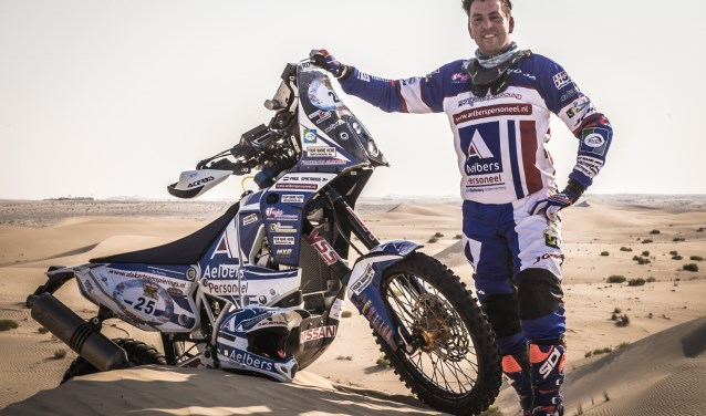 Paul Spierings zet alles op alles om topfit deel te gaan nemen aan de Dakar Rally 2019