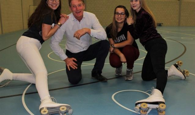 Brit, Berrie, Esther en Anouk zijn verknocht aan RC Alico die met drie keer Gold hun jubileum vieren. Foto: Wendy van Lijssel