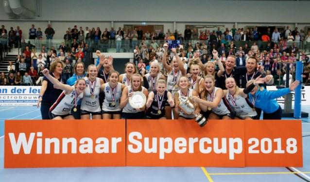 Zaterdag heeft Sliedrecht Sport weer een klein beetje geschiedenis geschreven. (Foto: Pim Waslander)