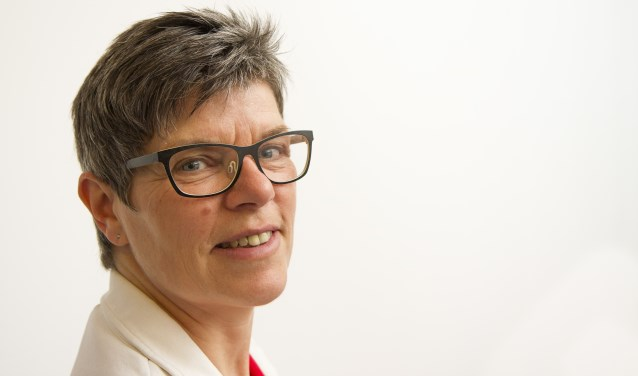 Brigitte van Beek van Moed Training. Deze maand is ze te gast in Valkenswaard.