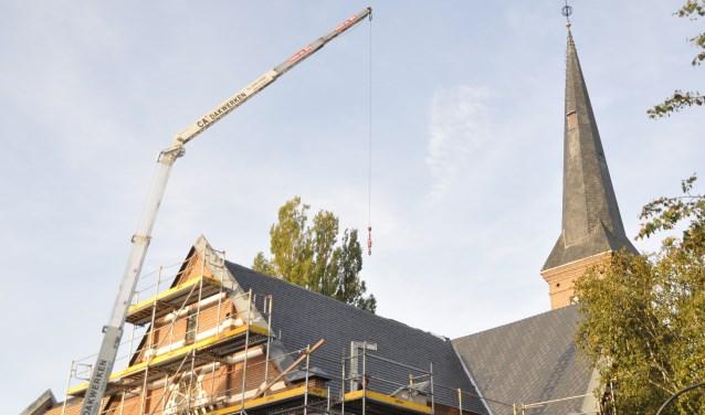 Restauratie van het dak van de Immanuelkerk