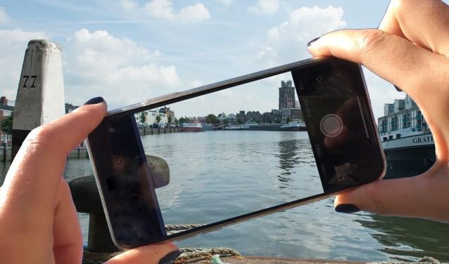 Maak een mooie smartpfone foto in Veenendaal (Foto ter illustratie, Lisette van Gameren)