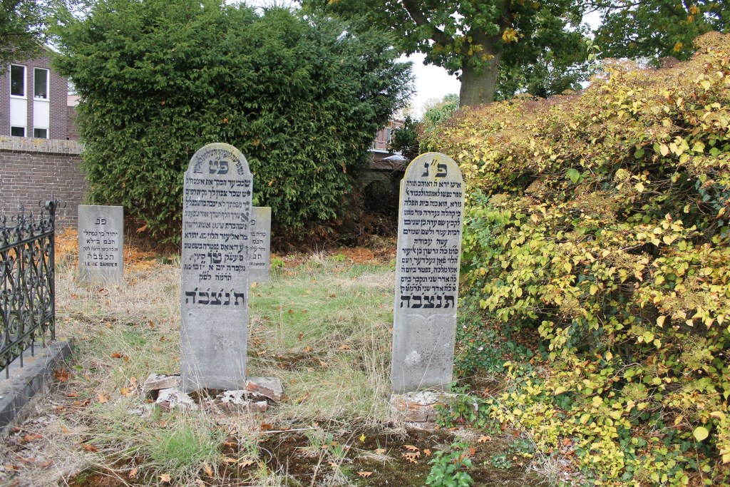 De Joodse Begraafplaats is jarenlang niet onderhouden, daar komt nu verandering in.  Foto: Leo van der Linde © Persgroep