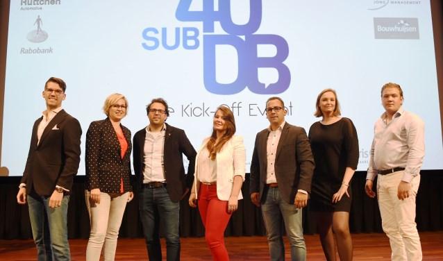 Een groot inspiratie-event op donderdag 11 oktober in de Verkadefabriek vormde de officiële start van SUB40DB. Foto: Henk van Esch