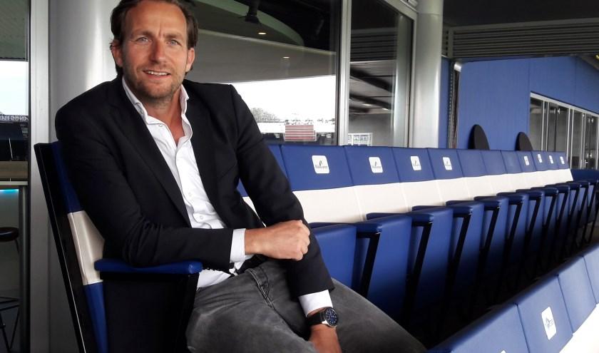 Edwin Peterman wil PEC Zwolle 'gestructureerd en gefundeerd' laten groeien. (foto: Erwin Dijk)