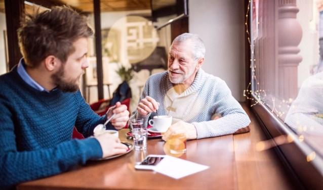 """Paulien van den Hoogen: """"Buddyhulp is er voor die bejaarde meneer die met een buitenstaander af en toe over zijn ziekte wil praten."""""""