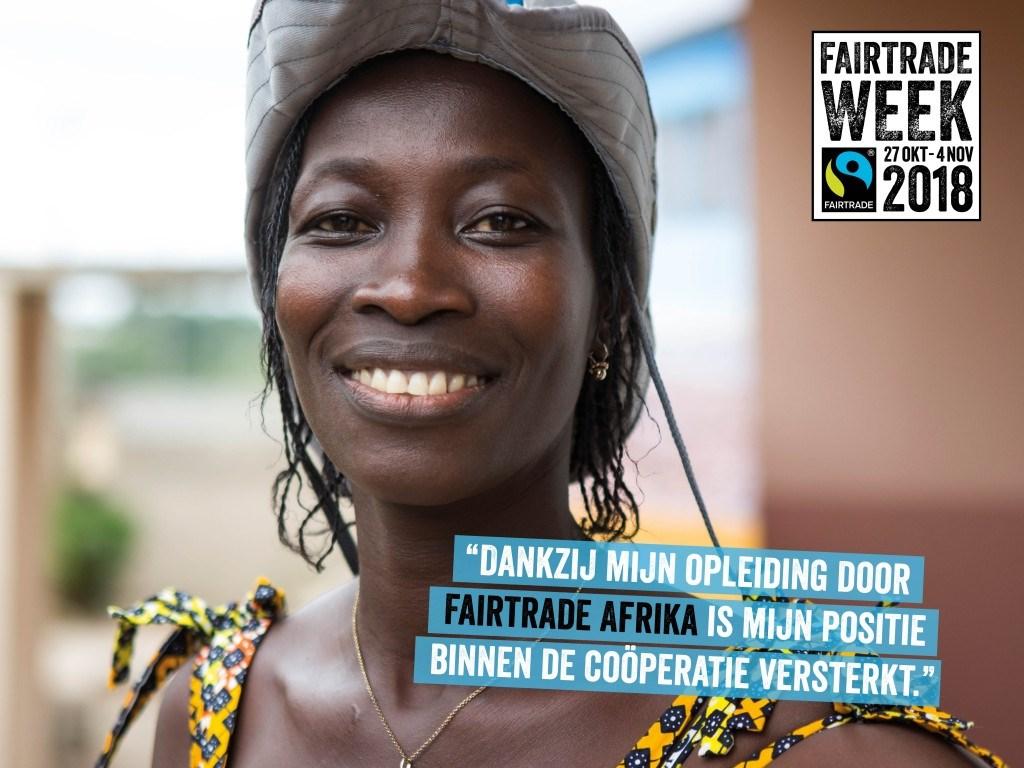 Fairtrade week Foto: Fairtradegemeenten.nl © Persgroep