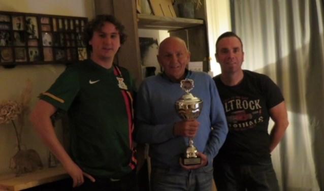 Met van links naar rechts: Sjaak Vermeulen, Gert van Oudenallen en Rens Mooij.