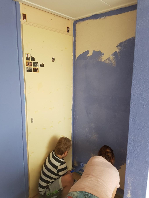 Kinderkamers worden opgeknapt door vrijwilligers van Present Foto: PR Present Bronckhorst © Persgroep