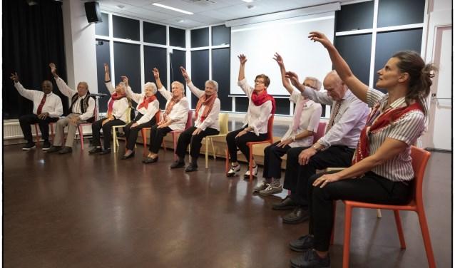Dansdemonstratie door Lesgroep Ommoord (Foto Facet Ridderkerk)