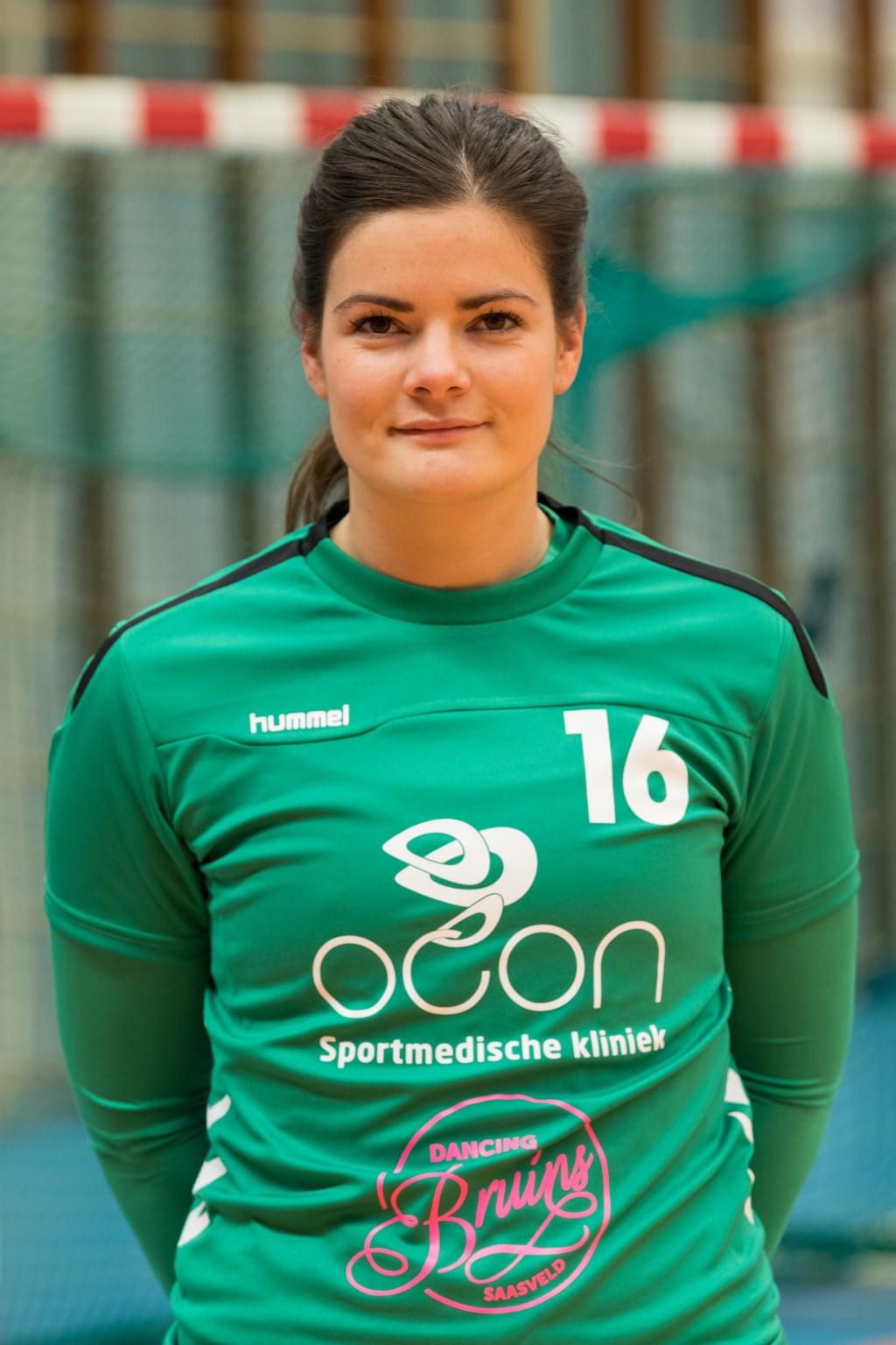 09-10-2018: Handbal: Borhave DS1: Borne: Eslie Wissink (16)
