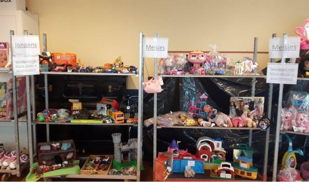 speelgoed uitgestald bij speelgoedbeurs