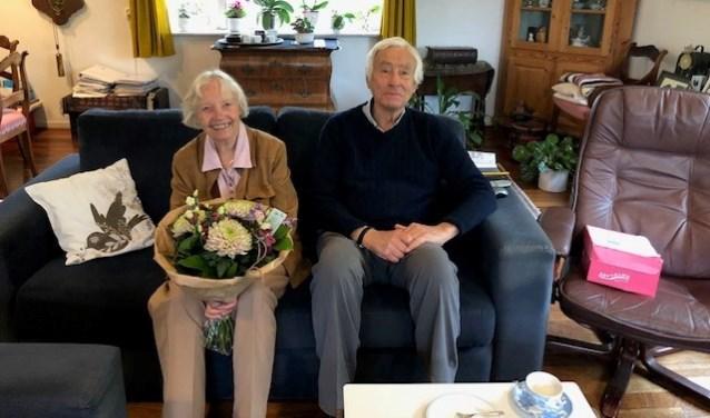 Het echtpaar. (Foto: Dirk van der Borg)