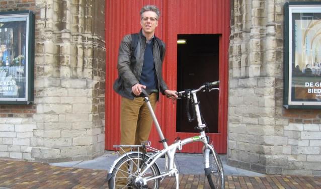 Door een val met zijn fiets was Gijsbert Kok maanden uit de running.