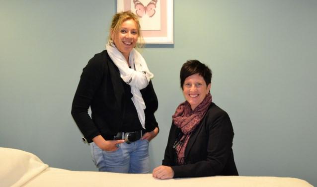 Lionne Meijnen (links) en Dianne Meijnen
