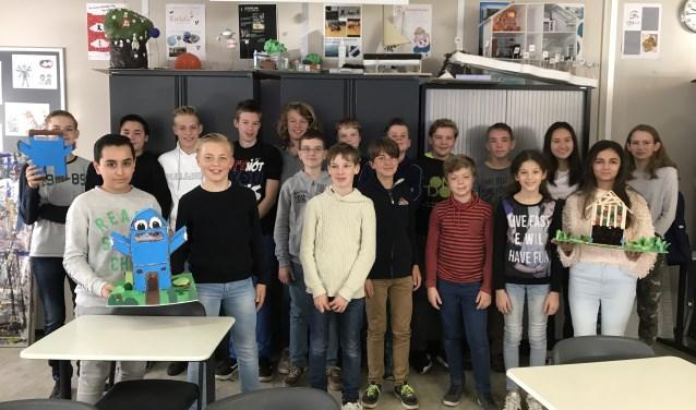 Leerlingen van het Bataafs Lyceum zijn inmiddels aan de slag gegaan met ideeën voor een groener Hengelo.Ze bedachten verschillende duurzame projecten. Eigen foto