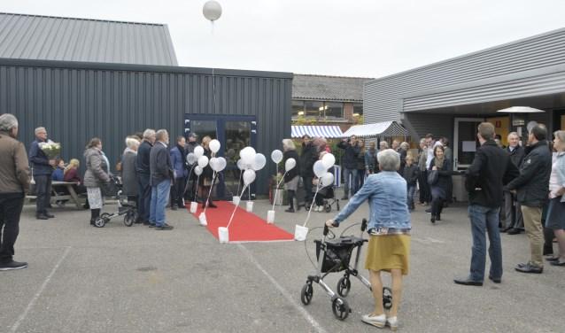 De heropening van Noppes trok veel bezoekers naar het arbeidstrainingscentrum Scheldestromen in Kapelle.