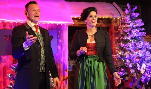 Rita und Andreas brengen Oostenrijkse, romantische kerstsferen naar de Plechelmuskerk. Verwacht wordt dat het concert uitverkocht raakt.