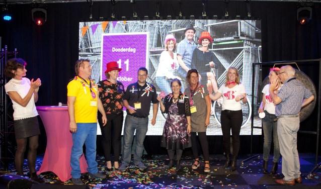 Winnaars van het pitchpodium: De Terugwinning, Abrona NUdoen!, KUNST ad RIJN en Boogh Harmelen