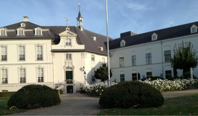 In het kasteel van Boxmeer aan de Veerstraat begon de Boxmeeerse ziekenhuishistorie. (Eigen foto)