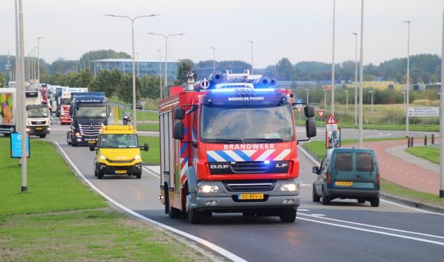 Vele chauffeurs namen een bijrijder met een verstandelijke beperking mee in hun truck. Foto: Spa Media / Roy Wolters