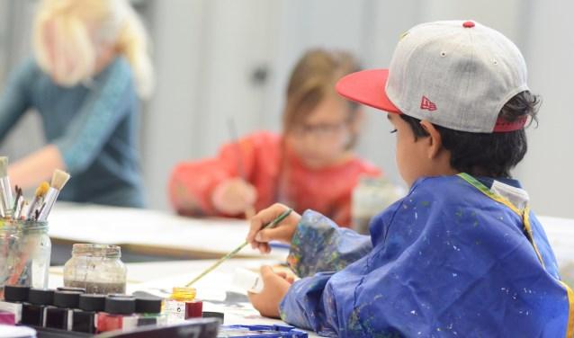 Volg een workshop in de herfstvakantie bij Kunstbrouwerij.