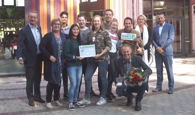 Groevenbeek Putten heeft er weer een zilveren certificaat en een duurzame duim bij.