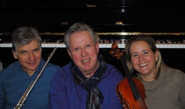 Het Gulden Euro Trio verzorgt op zondag 28 oktober om 15.00 uur een optreden in het Emmausklooster in Velp.
