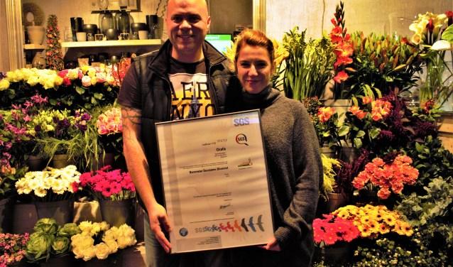 Bloemsierkunst Oxalis is een van de meest duurzame bloemisten in Nederland. En daar is Ramon van der Hoorn bijzonder trots op.