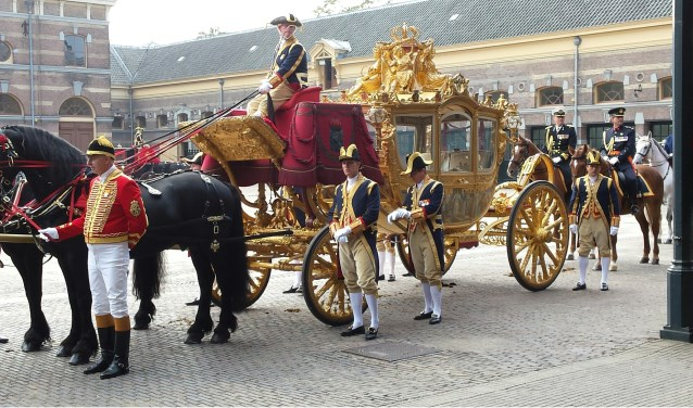 Donderdag 18 oktober organiseert de Historische Vereniging Sliedrecht een lezing met als onderwerp de Gouden Koets.  (Foto: Privé)