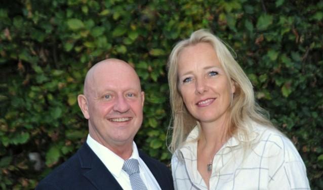 Yfke Laanstra en Jan Pieter van Lieshout. Foto: Coenraad de Kok