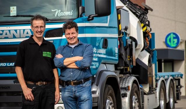 """""""De capaciteit en kwaliteit van onze werknemers is bepalend voor onze onderneming"""", aldus Mari Lammers met naast hem zijn broer Hans. Foto: Yuri Floris Fotografie"""