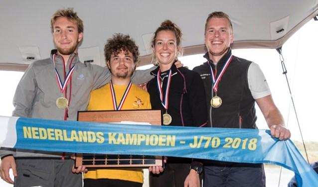 Jan Wanders, Joshua Amato, Arianne van de Loosdrecht en Koen Sibbel zijn Nederlands Kampioen geworden! (foto: PR)