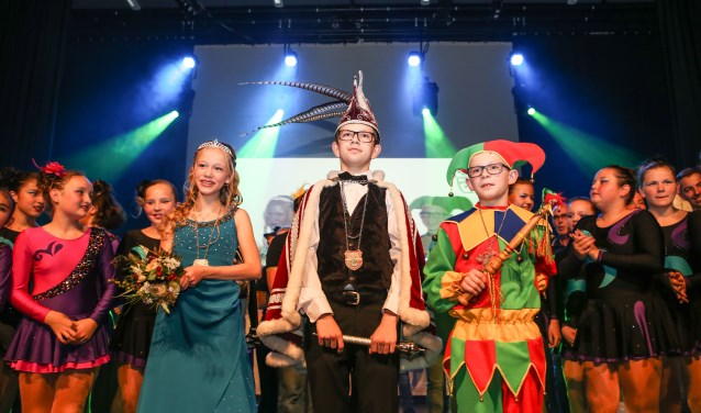 Wievolgen prins Cas I, prinses Eline en nar Bram op? (foto Kristel Beelen).