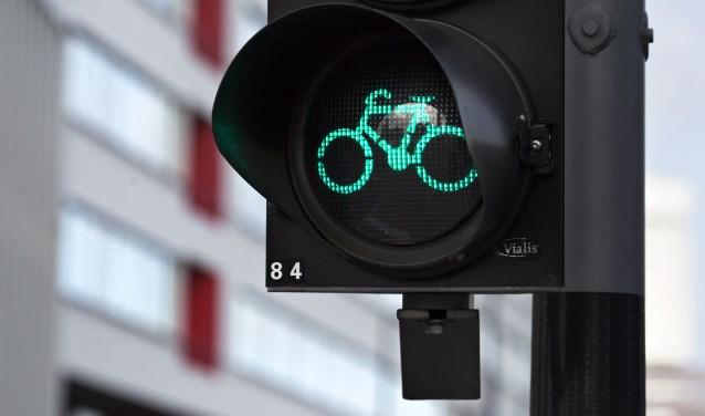 Tegelijk groen voor fietsers