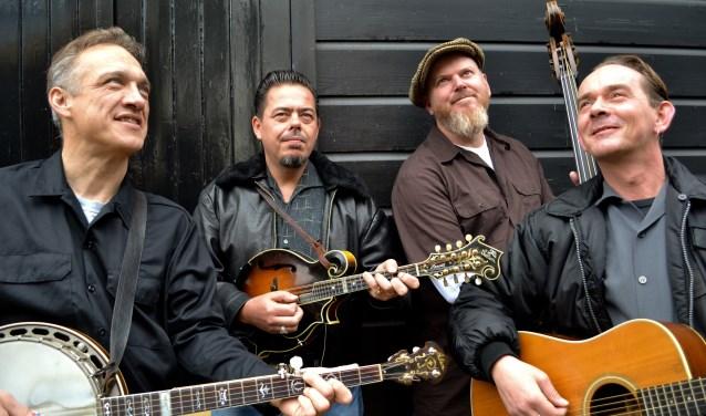 Bandleden van Blue Grass Boogiemen