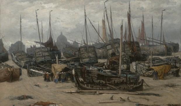 Na de storm van 1894, 1896H.W. Mesdag