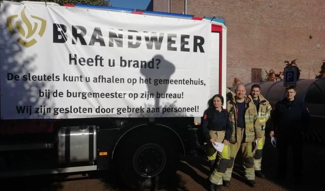 """De Doornse Brandweer staat te springen om parttime brandweermannen of vrouwen. """"Niet bang voor een beetje spanning? Meld je aan!"""""""