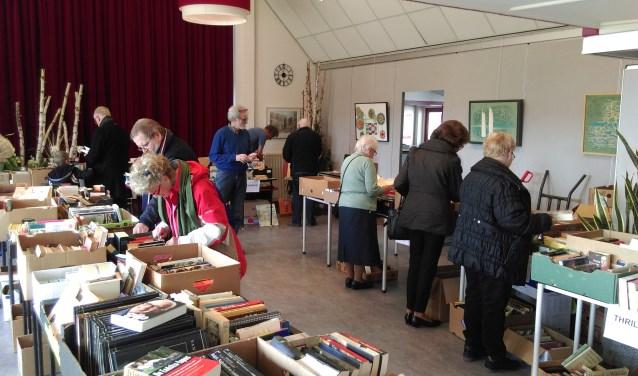 De boekenmarkt van Rekken wordt op zaterdag 20 oktober gehouden in Den Hof aan de Lindevoort.