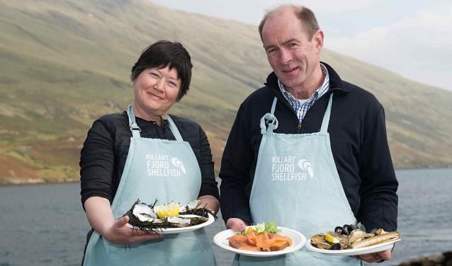 Kate en Simon Kennedy van het Ierse Killary Fjord.
