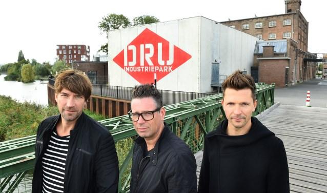 vlnr Gerwin Ruesink, Marcel Geven en Nathan Meinen van Crystal Dream. (foto: Roel Kleinpenning)