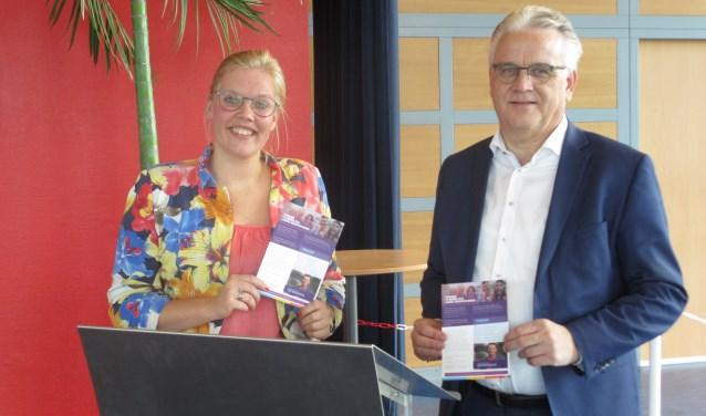 Carine Kreijkes en Gerard Rutterkamp zijn de commissieleden van School en Kerk.