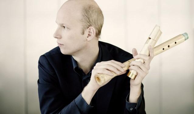 Hoogtepunt van het festival is het spectaculaire concert 'Ode aan Jacob van Eyck' op zaterdag 27 oktober om 20.00 uur in de Catharijnekerk. Topblokfluitist Erik Bosgraaf (foto) speelt dan met zijn ensemble Cordevento.