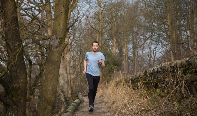 Deelnemers lopen een route door de natuur. Foto ter illustratie.
