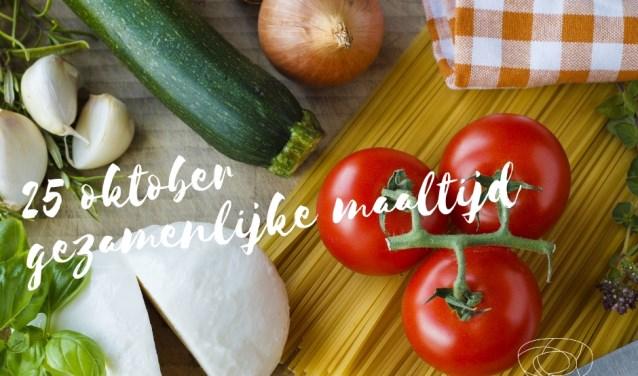 Italiaans dineren op 25 oktober.