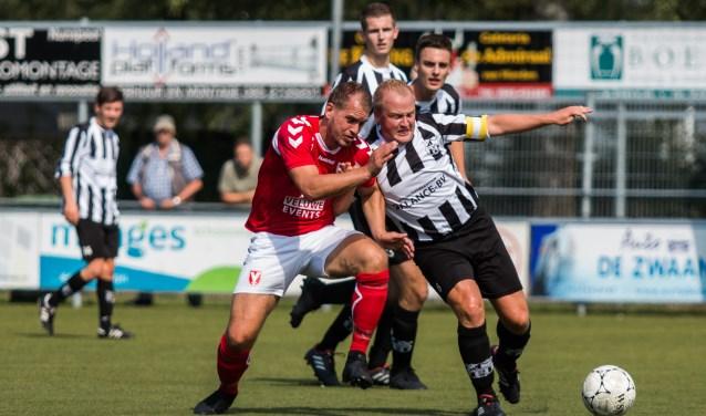 VV Hulshorst pakte in drie wedstrijden al zeven punten. In de beker won Hulshorst van Elspeet. Foto: Willemien van Duinen