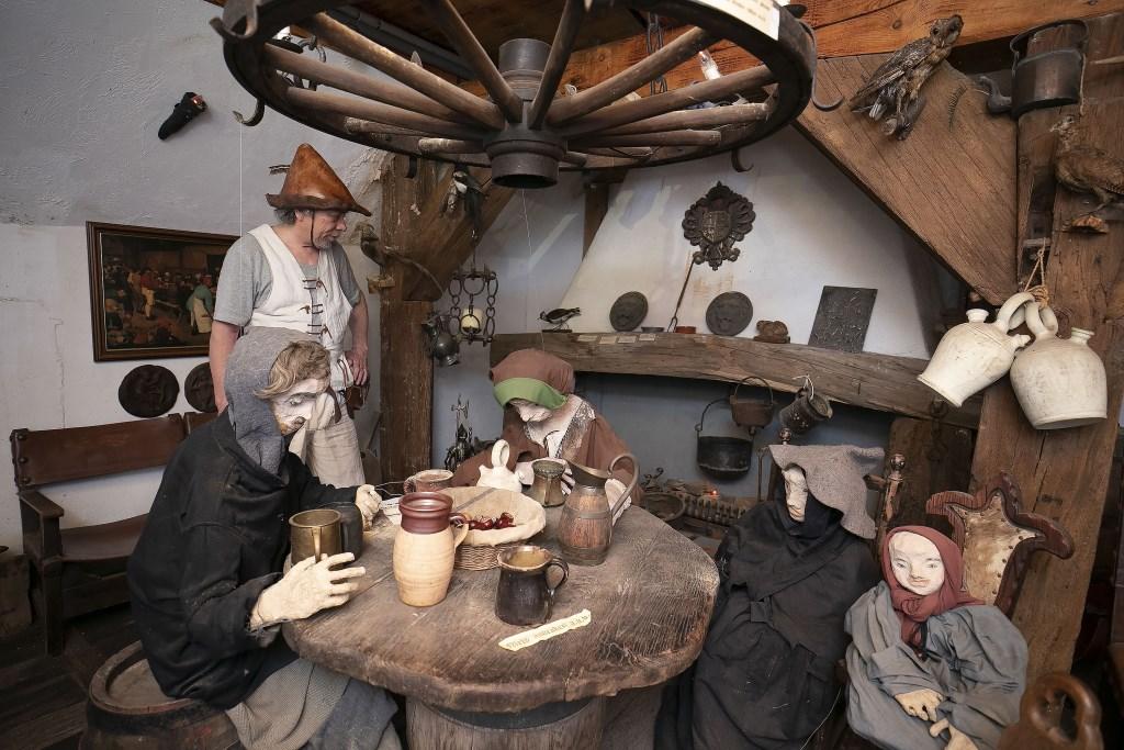 Leven zoals de mensen in de Middeleeuwen leefden. Het kan op Vlotburg. Foto: Dik Kuiper © Persgroep
