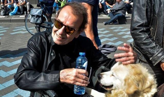 Joop was een graag geziene gast op de Boulevard of Golden Music op Kijkduin