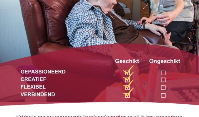 'Kom speeddaten bij De Lange Wei!' Op zaterdag 13 oktober in De Zes Molens en op zaterdag 3 november in De Lange Wei.