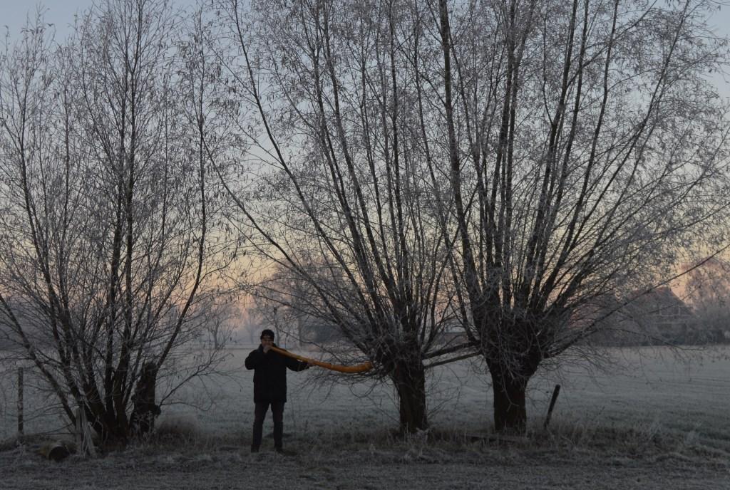 Foto: Midwinterhoorn Bloazers 't Slat © Persgroep